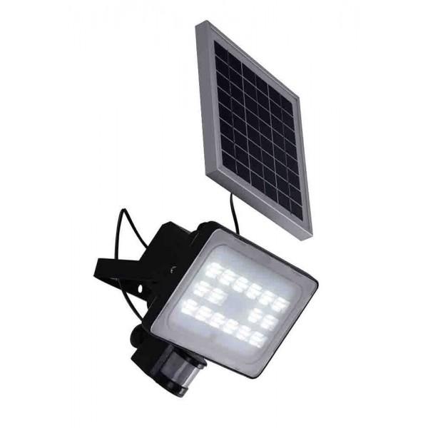 Соларен прожектор с подвижен панел