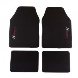 Универсални мокетни стелки за автомобил черни