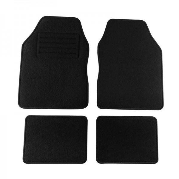 Универсални черни мокетни стелки за автомобил