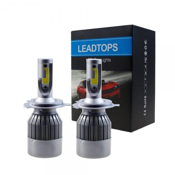 LED Крушки 60W H11 H3 H7 H4 H8 9003
