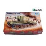 Сглобяем модел на танк KV-2 Tank