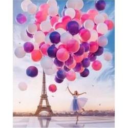 Картина за рисуване по номера - Балони