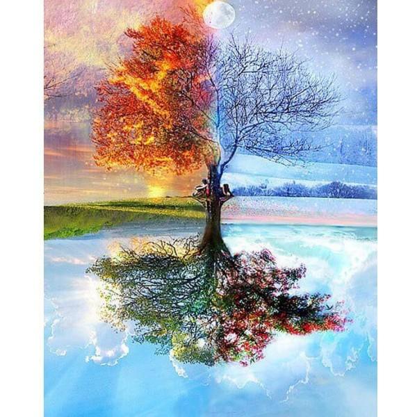 Картина за рисуване по номера - Дървото на живота