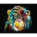Картина за рисуване по номера - Абстрактна Маймуна