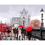 Картина за рисуване по номера - Лондон