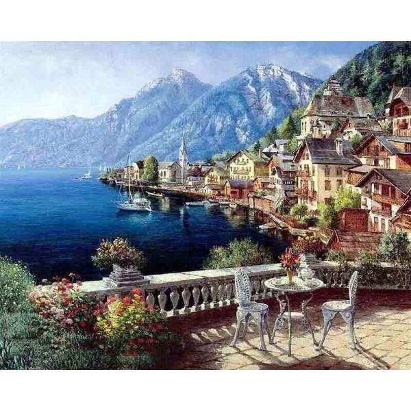 Картина за рисуване по номера - Панорама