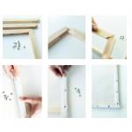 Сглобяема рамка за Картина за рисуване по номера