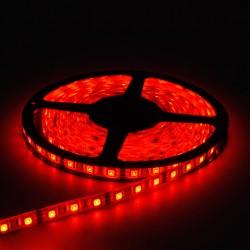Червена водоустойчива LED лента