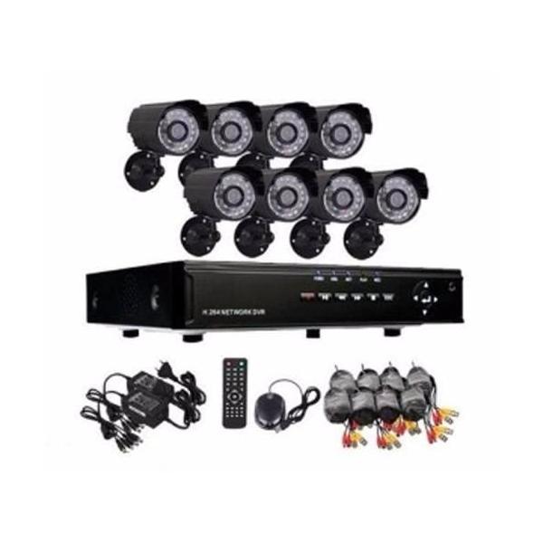 8-канална Видеосистема с DVR