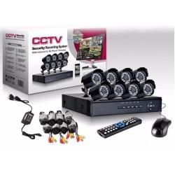 Четириканална Видеосистема с DVR
