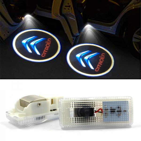 LED лого проектор плафон за CITROEN