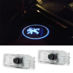 LED лого проектор плафон за PEUGEOT