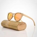 Слънчеви очила от бамбук дамски 100% UV защита