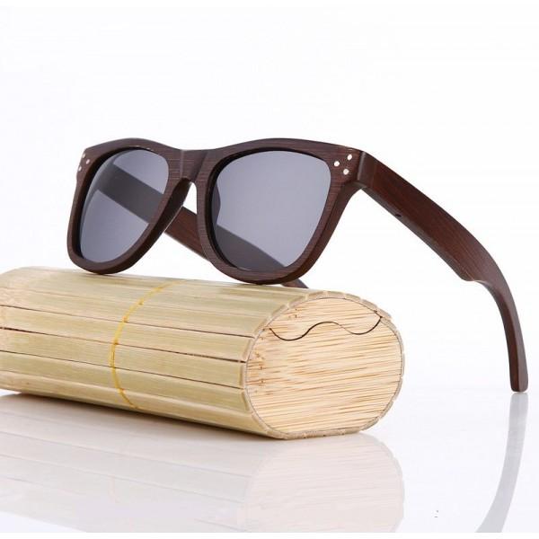 Слънчеви очила от дърво classic unisex 100% UV защита